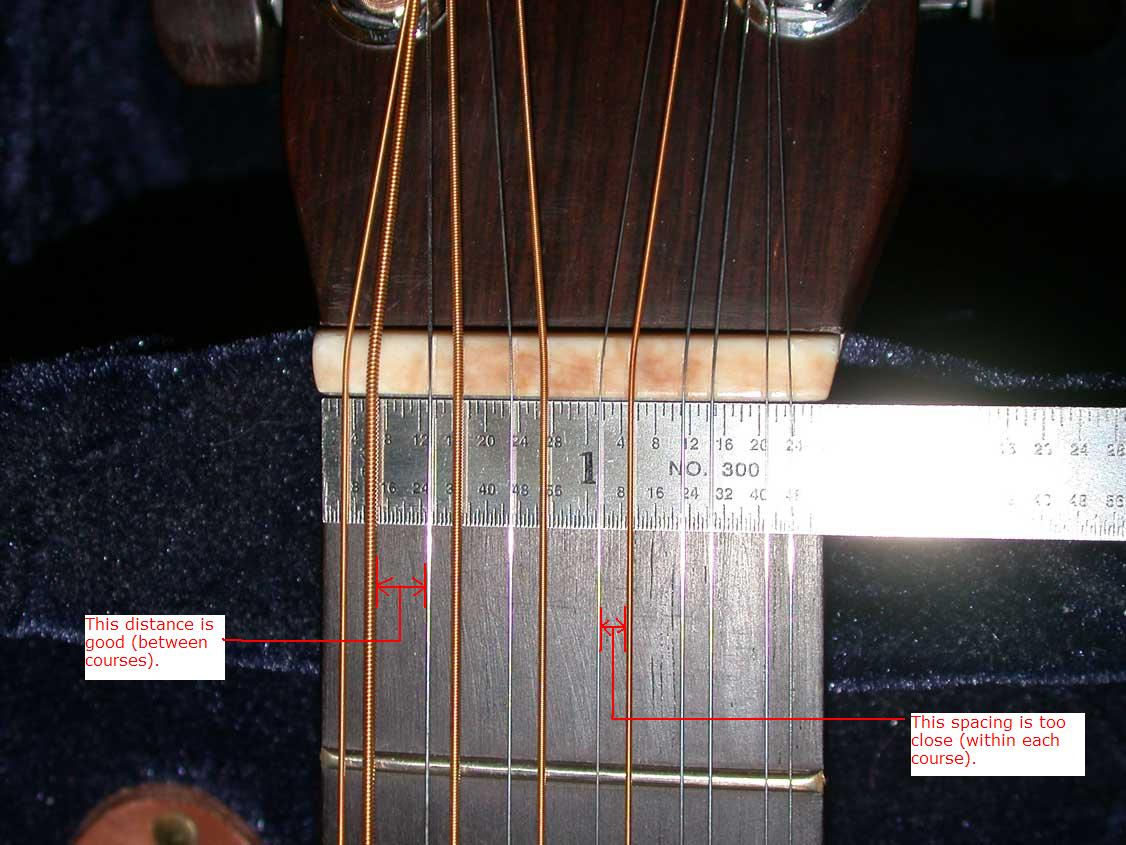 Believed That He Had Arrived At The Optimum Spread For This Unique Instrument Action Itself Was Setup To Be About 1 64 Higher Than My Martin 12